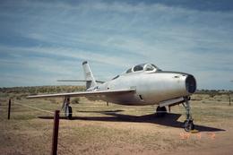 leoさんが、エドワーズ空軍基地で撮影したアメリカ空軍 F-84F Thunderstreakの航空フォト(飛行機 写真・画像)