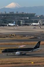 GNPさんが、羽田空港で撮影したスターフライヤー A320-214の航空フォト(写真)