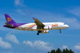delawakaさんが、プーケット国際空港で撮影したタイ・スマイル A320-232の航空フォト(写真)
