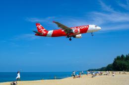 delawakaさんが、プーケット国際空港で撮影したタイ・エアアジア A320-216の航空フォト(写真)