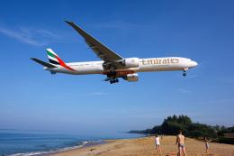delawakaさんが、プーケット国際空港で撮影したエミレーツ航空 777-31H/ERの航空フォト(写真)