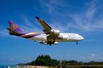 delawakaさんが、プーケット国際空港で撮影したタイ国際航空 747-4D7の航空フォト(写真)