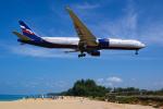 delawakaさんが、プーケット国際空港で撮影したアエロフロート・ロシア航空 777-3M0/ERの航空フォト(飛行機 写真・画像)