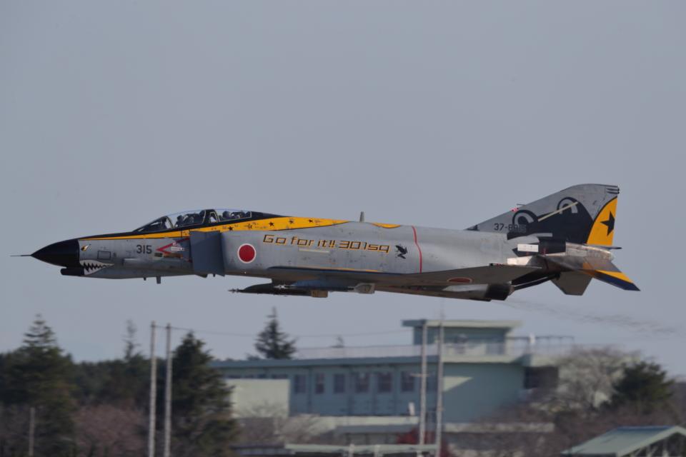 nobu_32さんの航空自衛隊 Mitsubishi F-4EJ Kai Phantom II (37-8315) 航空フォト
