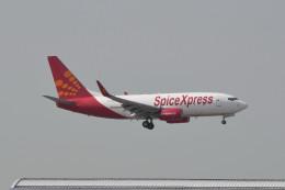 kuro2059さんが、香港国際空港で撮影したスパイスジェット 737-75C(BDSF)の航空フォト(写真)