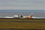 乗り物大好きライター・ヨッシーさんが、奄美空港で撮影した日本エアコミューター ATR-42-600の航空フォト(写真)