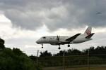 乗り物大好きライター・ヨッシーさんが、喜界空港で撮影した日本エアコミューター 340Bの航空フォト(写真)