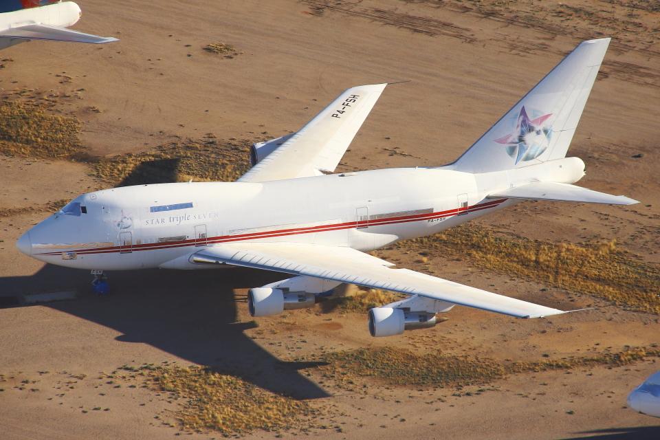 masa707さんのアーネスト・アングリー・ミニスタリー Boeing 747SP (P4-FSH) 航空フォト