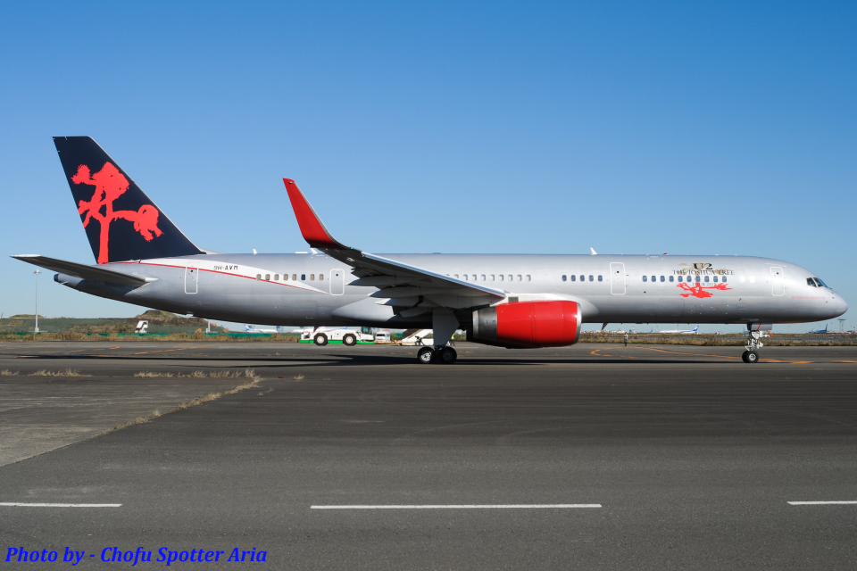 Chofu Spotter Ariaさんのジェットマジック Boeing 757-200 (9H-AVM) 航空フォト