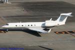 Chofu Spotter Ariaさんが、羽田空港で撮影したビップジェット C-37B Gulfstream G550 (G-V-SP)の航空フォト(飛行機 写真・画像)