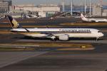 TIA spotterさんが、羽田空港で撮影したシンガポール航空 A350-941XWBの航空フォト(飛行機 写真・画像)