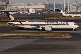 TIA spotterさんが、羽田空港で撮影したシンガポール航空 A350-941の航空フォト(飛行機 写真・画像)