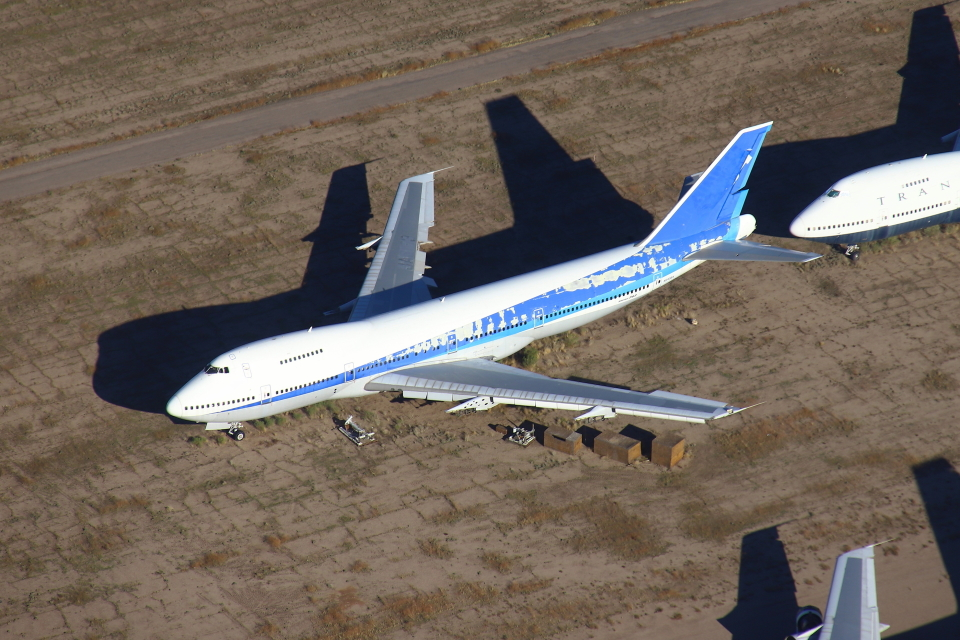 masa707さんのボーイング エアクラフト ホールディング カンパニー Boeing 747SR (N245BA) 航空フォト