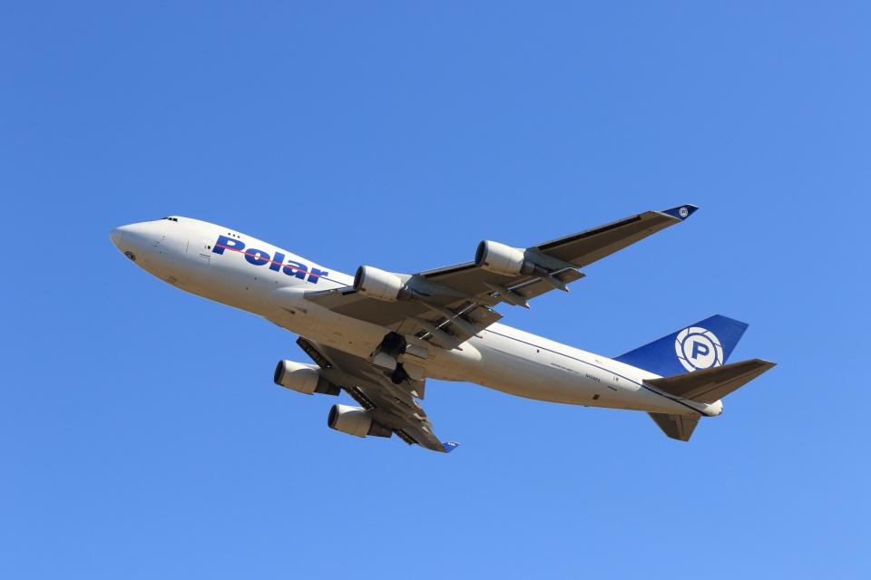 マーサさんのポーラーエアカーゴ Boeing 747-400 (N450PA) 航空フォト