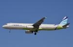 鉄バスさんが、福岡空港で撮影したエアプサン A321-232の航空フォト(写真)