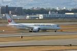 乗り物大好きライター・ヨッシーさんが、伊丹空港で撮影した日本航空 787-8 Dreamlinerの航空フォト(写真)