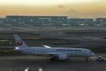乗り物大好きライター・ヨッシーさんが、羽田空港で撮影した日本航空 787-8 Dreamlinerの航空フォト(写真)
