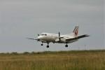 乗り物大好きライター・ヨッシーさんが、奥尻空港で撮影した北海道エアシステム 340B/Plusの航空フォト(写真)