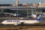 安芸あすかさんが、羽田空港で撮影した全日空 767-381Fの航空フォト(写真)