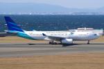 yabyanさんが、中部国際空港で撮影したガルーダ・インドネシア航空 A330-243の航空フォト(飛行機 写真・画像)