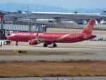 PW4090さんが、関西国際空港で撮影した吉祥航空 A321-211の航空フォト(写真)