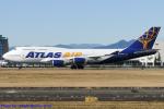 Chofu Spotter Ariaさんが、横田基地で撮影したアトラス航空 747-446の航空フォト(飛行機 写真・画像)