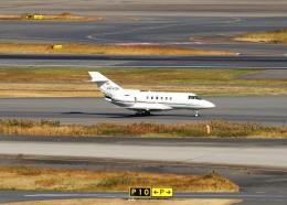 ハム太郎。さんが、羽田空港で撮影した不明 Hawker 800の航空フォト(飛行機 写真・画像)