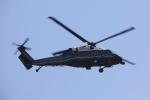 べにやさんが、赤坂プレスセンターで撮影したアメリカ海兵隊 VH-60N White Hawk (S-70A)の航空フォト(写真)