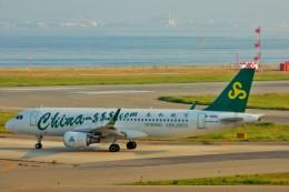 ちっとろむさんが、関西国際空港で撮影した春秋航空 A320-214の航空フォト(飛行機 写真・画像)