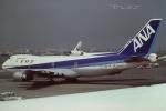 tassさんが、羽田空港で撮影した全日空 747SR-81の航空フォト(飛行機 写真・画像)
