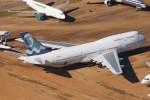 masa707さんが、フェニックス・グッドイヤー空港で撮影したコルセールフライ 747-312の航空フォト(飛行機 写真・画像)