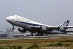 LEVEL789さんが、松山空港で撮影した全日空 747SR-81の航空フォト(飛行機 写真・画像)