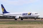 Nyankoさんが、茨城空港で撮影したスカイマーク 737-8FZの航空フォト(写真)