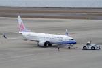 yabyanさんが、中部国際空港で撮影したチャイナエアライン 737-8ALの航空フォト(飛行機 写真・画像)