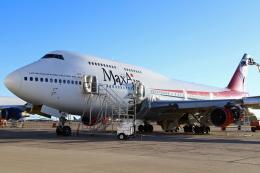 masa707さんが、ピナル空港で撮影したマックス・エア 747-4B5の航空フォト(飛行機 写真・画像)