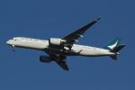 いぬ_さんが、成田国際空港で撮影したキャセイパシフィック航空 A350-941XWBの航空フォト(写真)