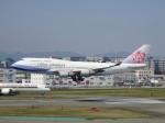 Blue605Aさんが、福岡空港で撮影したチャイナエアライン 747-409の航空フォト(写真)