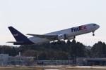 ANA744Foreverさんが、成田国際空港で撮影したフェデックス・エクスプレス 767-3S2F/ERの航空フォト(写真)