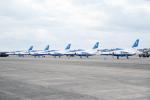 eagletさんが、茨城空港で撮影した航空自衛隊 T-4の航空フォト(写真)