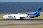 yabyanさんが、中部国際空港で撮影したエア・トランザット 737-8Q8の航空フォト(飛行機 写真・画像)
