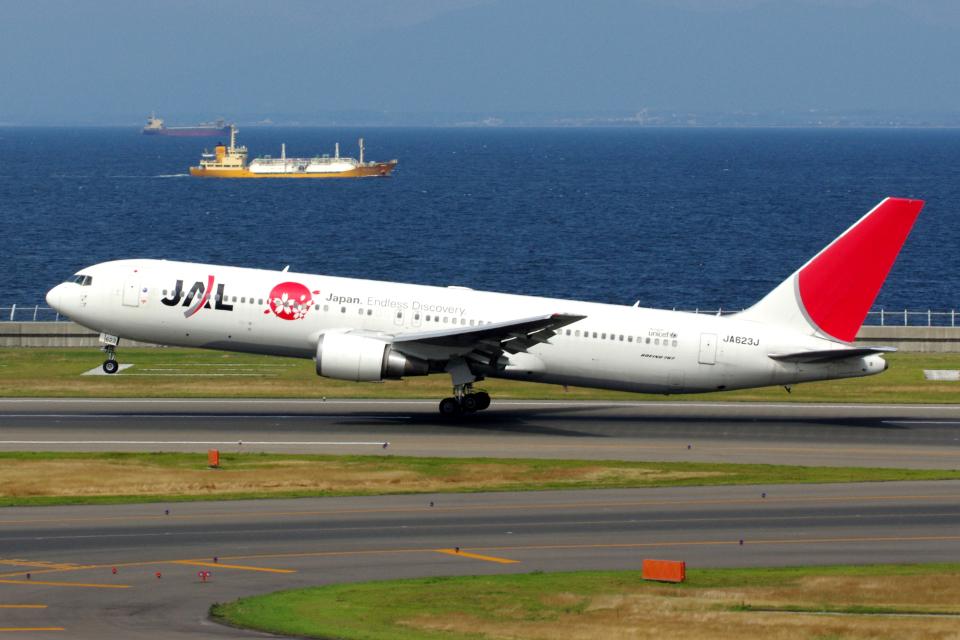 yabyanさんの日本航空 Boeing 767-300 (JA623J) 航空フォト
