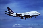 tassさんが、成田国際空港で撮影したサウジアラビア航空 747SP-68の航空フォト(飛行機 写真・画像)