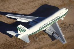 masa707さんが、ピナル空港で撮影したエバーグリーン航空 747-273Cの航空フォト(飛行機 写真・画像)