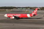 utarou on NRTさんが、成田国際空港で撮影したタイ・エアアジア・エックス A330-343Xの航空フォト(写真)