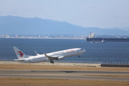 meijeanさんが、中部国際空港で撮影した中国東方航空 737-89Pの航空フォト(飛行機 写真・画像)