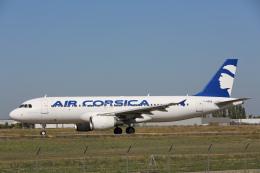 安芸あすかさんが、パリ オルリー空港で撮影したエア・コルシカ A320-216の航空フォト(飛行機 写真・画像)