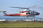 kumagorouさんが、仙台空港で撮影した青森県防災航空隊 412EPIの航空フォト(飛行機 写真・画像)