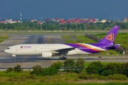 ちっとろむさんが、スワンナプーム国際空港で撮影したタイ国際航空 777-2D7の航空フォト(飛行機 写真・画像)