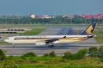 ちっとろむさんが、スワンナプーム国際空港で撮影したシンガポール航空 A330-343Xの航空フォト(写真)