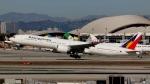 Bluewingさんが、ロサンゼルス国際空港で撮影したフィリピン航空 777-3F6/ERの航空フォト(写真)